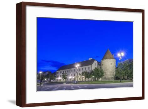 Zagreb Cathedral Fortification at Dawn-Rob Tilley-Framed Art Print