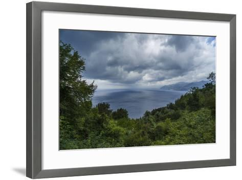 View of the Gulf from San Rocco-Guido Cozzi-Framed Art Print