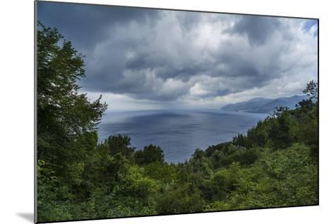 View of the Gulf from San Rocco-Guido Cozzi-Mounted Photographic Print