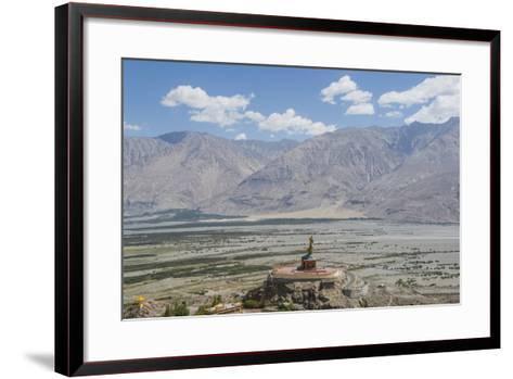 Diskit Monastery, the Giant Buddha-Guido Cozzi-Framed Art Print