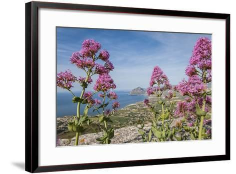 View of Golfo Di Bonagia from Erice-Guido Cozzi-Framed Art Print