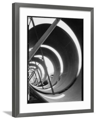 Hoover Dam Construction-Dick Whittington Studio-Framed Art Print