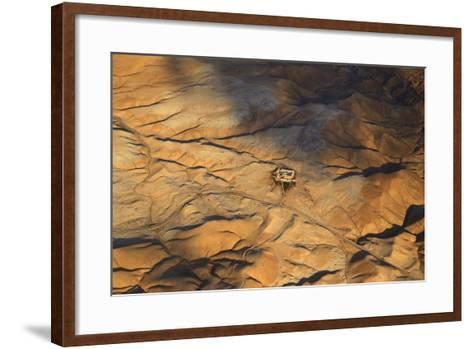 The Desert near the Dead Sea.-Stefano Amantini-Framed Art Print