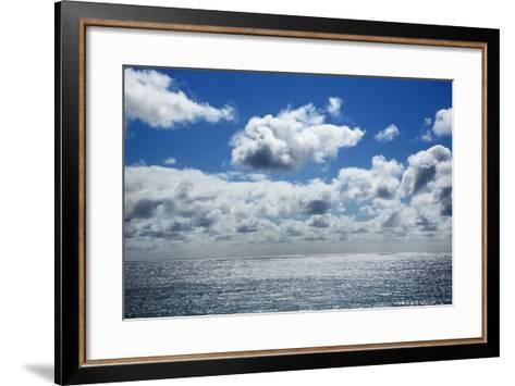 Cloud Impression at Ocean-Frank Krahmer-Framed Art Print