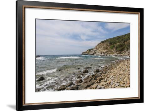Cala San Quirico, near Buca Delle Fate-Guido Cozzi-Framed Art Print