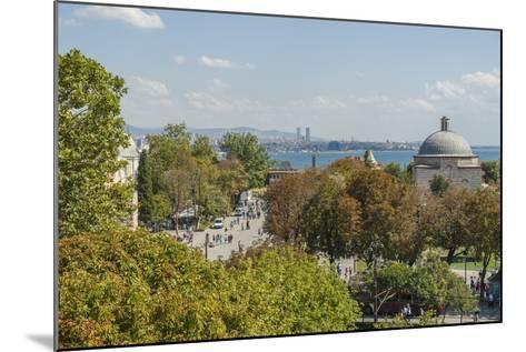 Promenade in Front of Aya Sofya-Guido Cozzi-Mounted Photographic Print