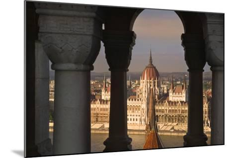 Parliament Building in Budapest-Jon Hicks-Mounted Photographic Print