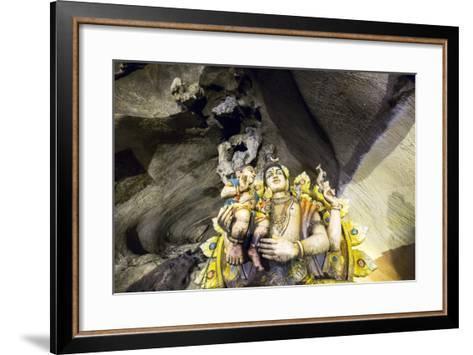 Hindu Shrine inside Batu Caves, Kuala Lumpur, Malaysia-Paul Souders-Framed Art Print