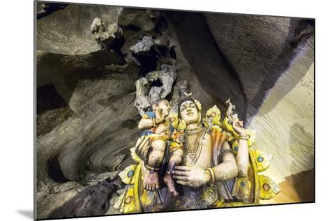 Hindu Shrine inside Batu Caves, Kuala Lumpur, Malaysia-Paul Souders-Mounted Photographic Print