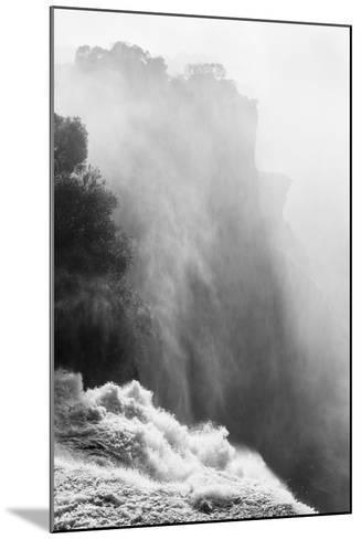 Zambezi River and Victoria Falls, Zimbabwe-Paul Souders-Mounted Photographic Print
