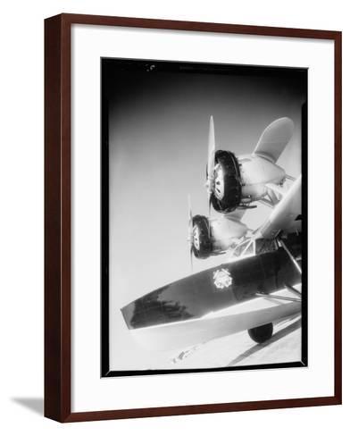 Douglas Dolphin Seaplane-Dick Whittington Studio-Framed Art Print