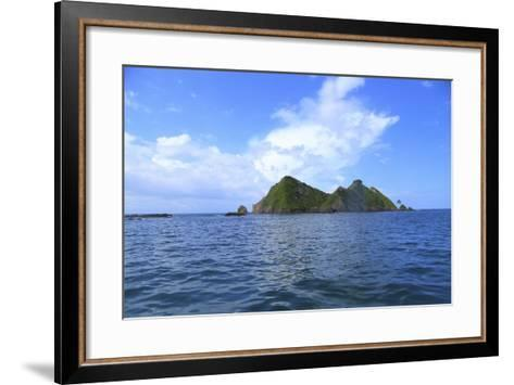 The Coast between Dominical and Uvita.-Stefano Amantini-Framed Art Print