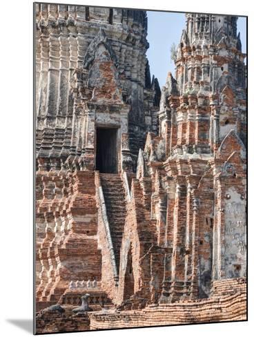 Phra Nakhon Si Ayutthaya Old Siam Tempel-Terry Eggers-Mounted Photographic Print