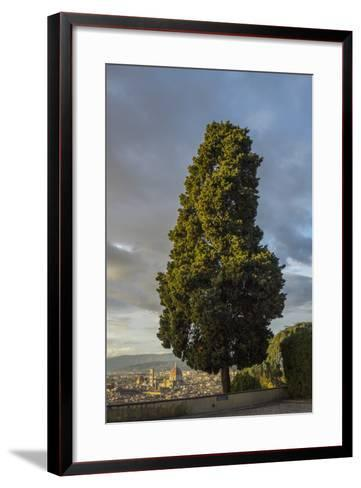 View of the Town from San Miniato Al Monte-Guido Cozzi-Framed Art Print