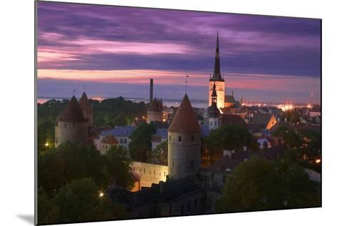 Skyline of Tallinn-Jon Hicks-Mounted Photographic Print