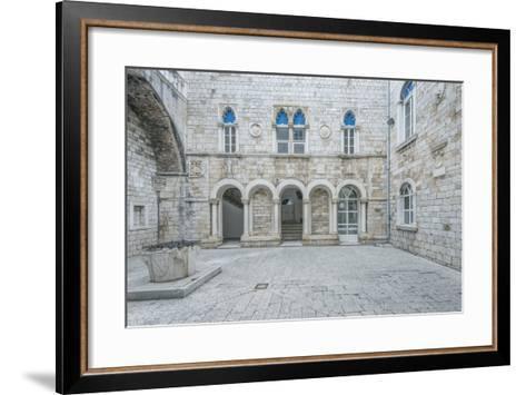 Trogir City Hall-Rob Tilley-Framed Art Print