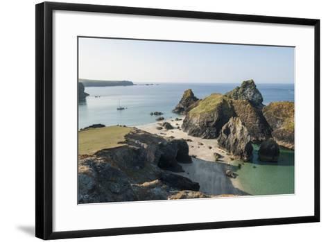Lizard Peninsula, View of Kynance Cove-Guido Cozzi-Framed Art Print