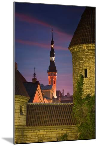 Town Hall and Town Wall-Jon Hicks-Mounted Photographic Print