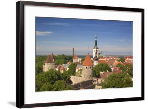 Tallinn-Jon Hicks-Framed Art Print
