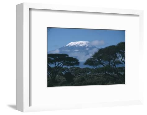 Mount Kilimanjaro-DLILLC-Framed Art Print