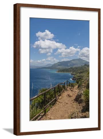 Lo Zingaro Natural Reserve-Guido Cozzi-Framed Art Print
