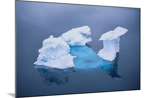 Iceberg Seen above and below Water-DLILLC-Mounted Photographic Print