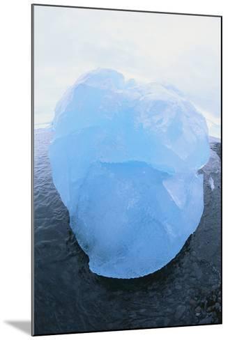 Iceberg Washed Ashore-DLILLC-Mounted Photographic Print