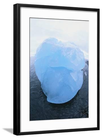 Iceberg Washed Ashore-DLILLC-Framed Art Print