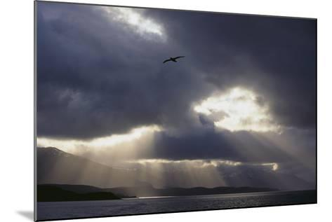 Sunlight Breaking through Clouds-DLILLC-Mounted Photographic Print