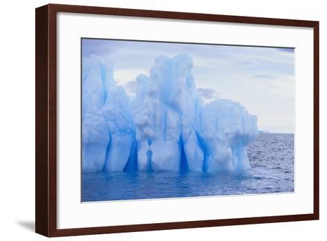 Iceberg-DLILLC-Framed Art Print
