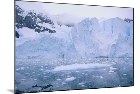 Icebergs Reflected in the Sea-DLILLC-Mounted Photographic Print