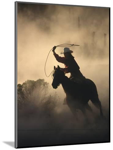 Cowgirl-DLILLC-Mounted Photographic Print