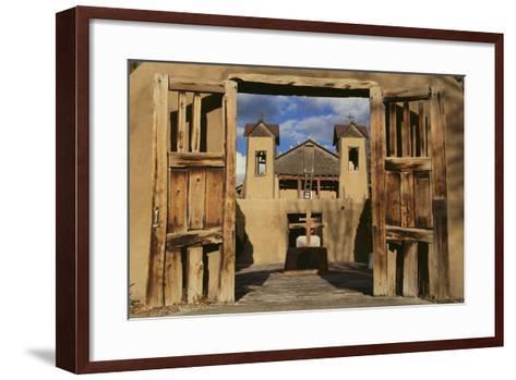 Santuario De Chimayo-DLILLC-Framed Art Print