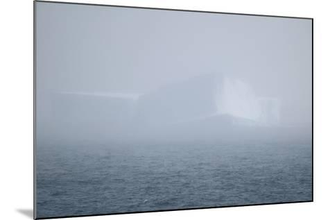 Iceberg Seen through Fog-DLILLC-Mounted Photographic Print