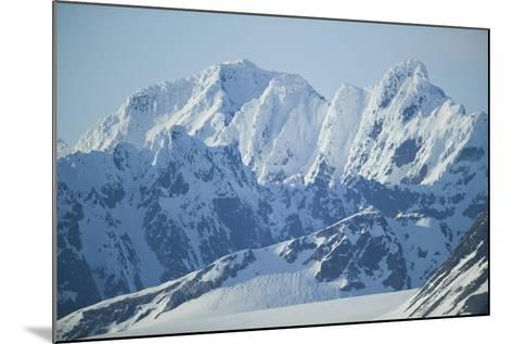 Snow Covered Peaks-DLILLC-Mounted Photographic Print
