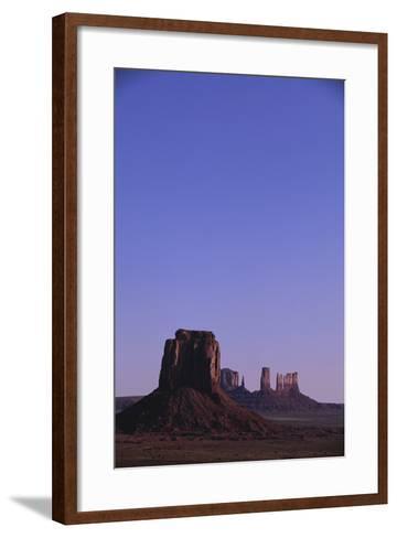 Desert Valley at Dusk-DLILLC-Framed Art Print