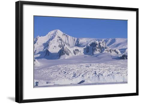 Mountains Rising from the Sea-DLILLC-Framed Art Print