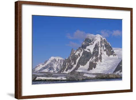 Mountains Rising from the Sea-DLILLC-Framed Art Print