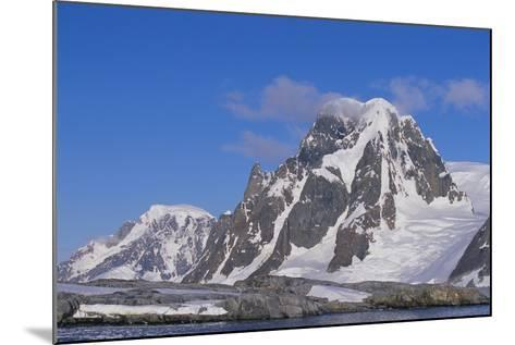 Mountains Rising from the Sea-DLILLC-Mounted Photographic Print