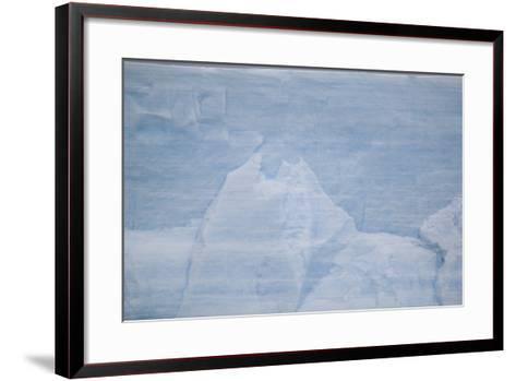 Layers on an Iceberg-DLILLC-Framed Art Print