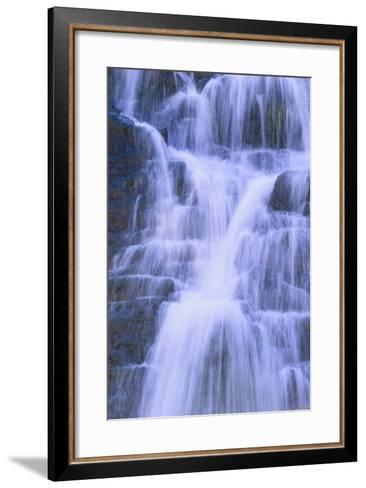 Fresh Waterfall-DLILLC-Framed Art Print