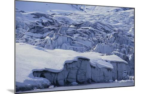 Shoup Glacier Covered in Fresh Snow-DLILLC-Mounted Photographic Print