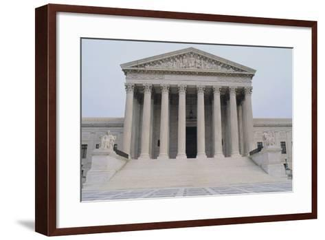 US Supreme Court-DLILLC-Framed Art Print