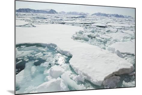 Sea Ice Surrounding Islands-DLILLC-Mounted Photographic Print