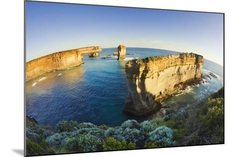 Coastline in Port Campbell National Park-Jon Hicks-Mounted Photographic Print