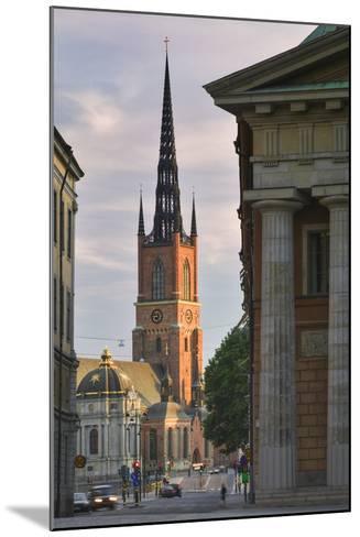 Riddarholmskyrkan Steeple-Jon Hicks-Mounted Photographic Print