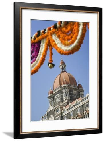Taj Mahal Palace Hotel-Jon Hicks-Framed Art Print
