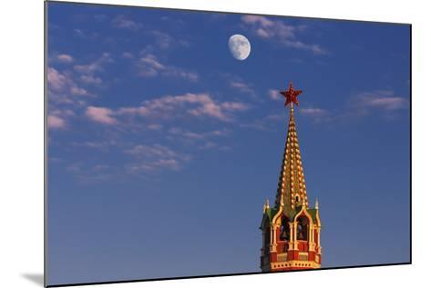 Moon Rise over the Saviour Gate Tower.-Jon Hicks-Mounted Photographic Print
