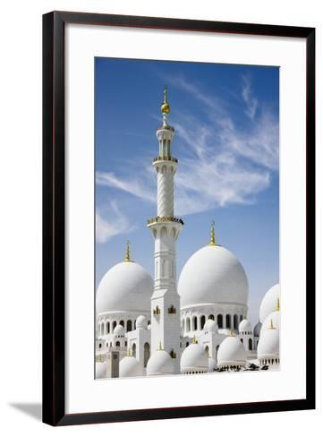 The Grand Mosque.-Jon Hicks-Framed Art Print