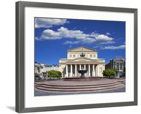The Bolshoi Theatre-Jon Hicks-Framed Art Print